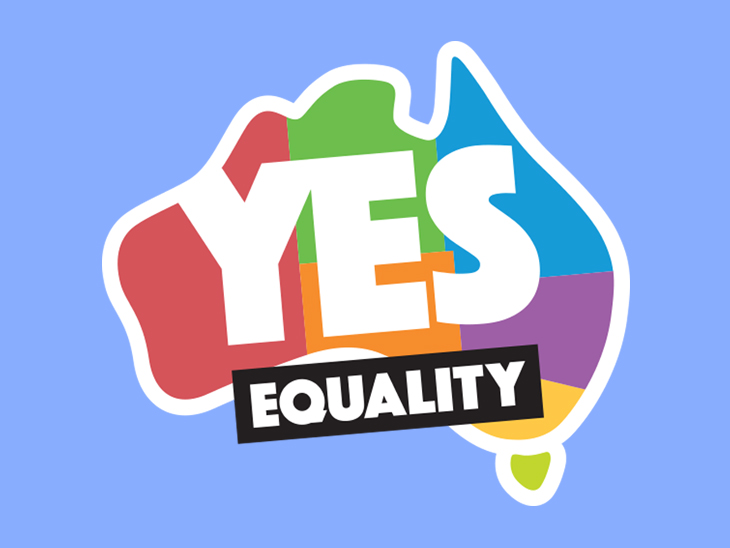 Yes equality graphic